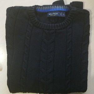 Men's Nautica black sweater Size medium